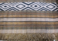 "Woven Throw Tshwana Fossil - 59"" x 66"""
